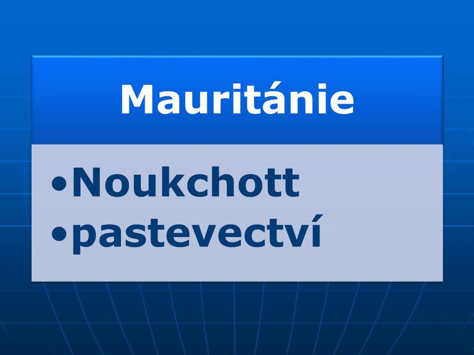 Státy: MauritánieMaliNigerČadSúdán