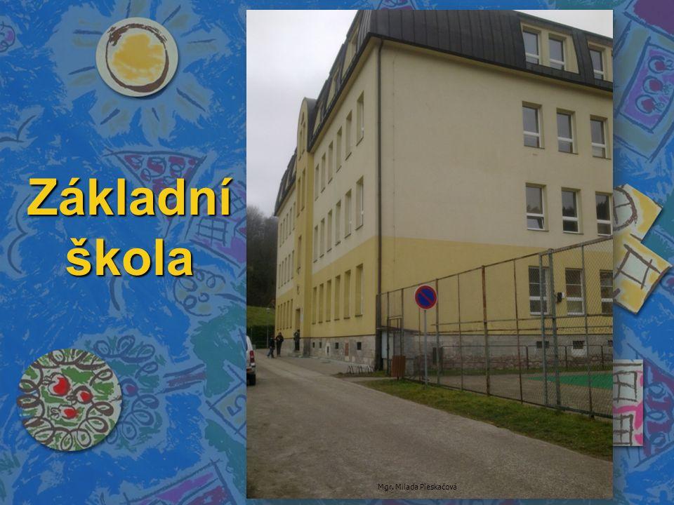 Základní škola Mgr. Milada Pleskačová