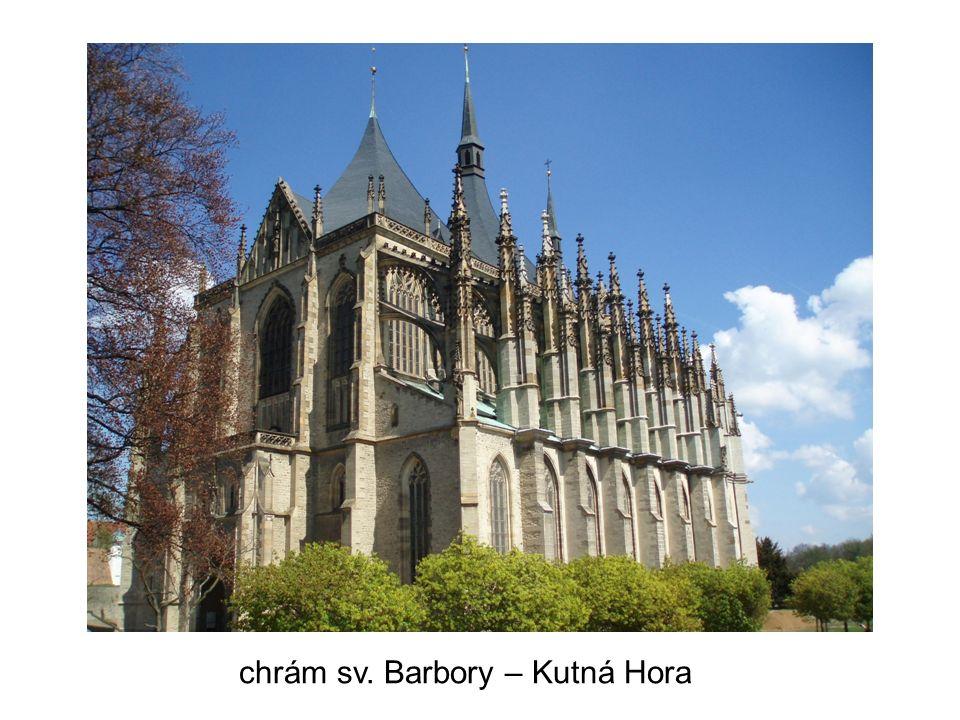 chrám sv. Barbory – Kutná Hora