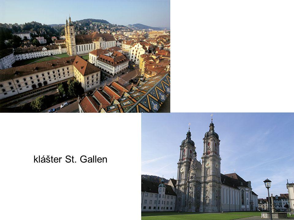 klášter St. Gallen