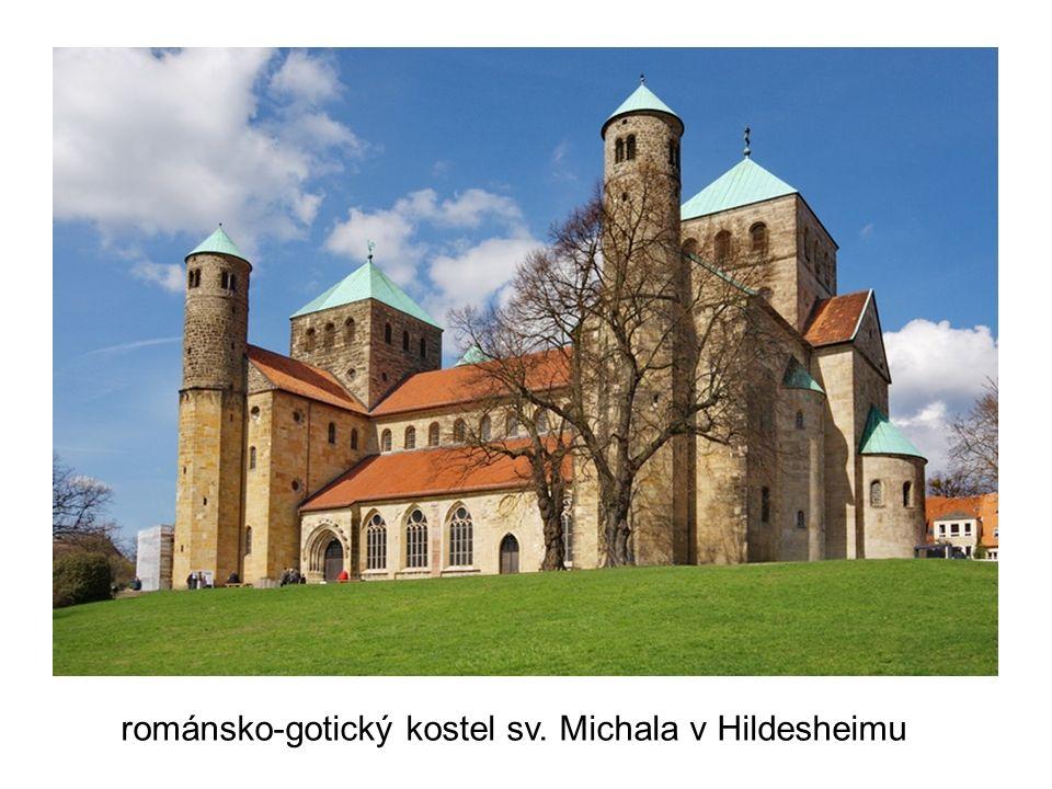 románsko-gotický kostel sv. Michala v Hildesheimu