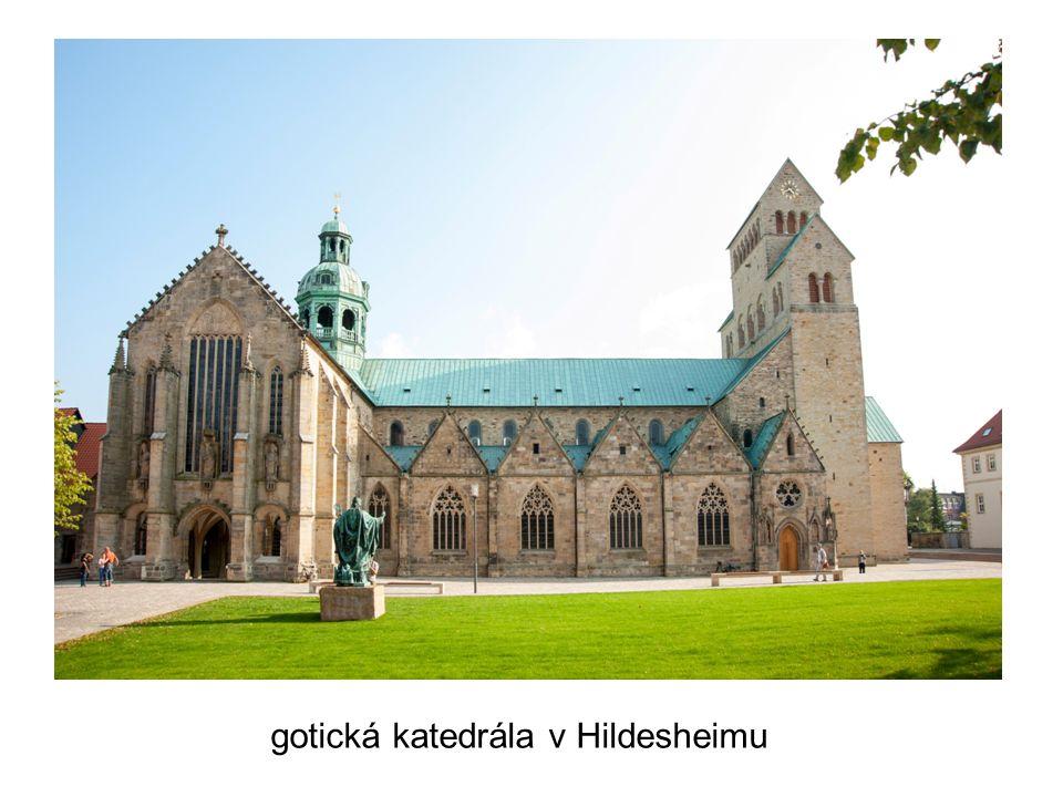 gotická katedrála v Hildesheimu