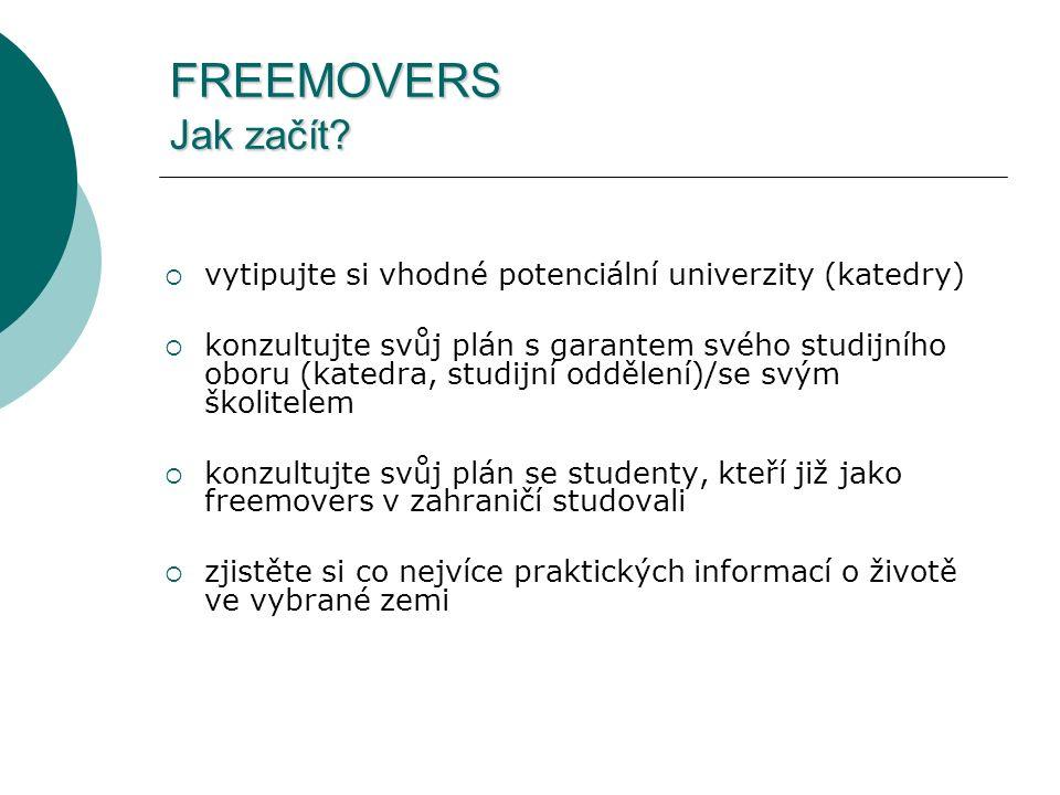 FREEMOVERS Jak začít.