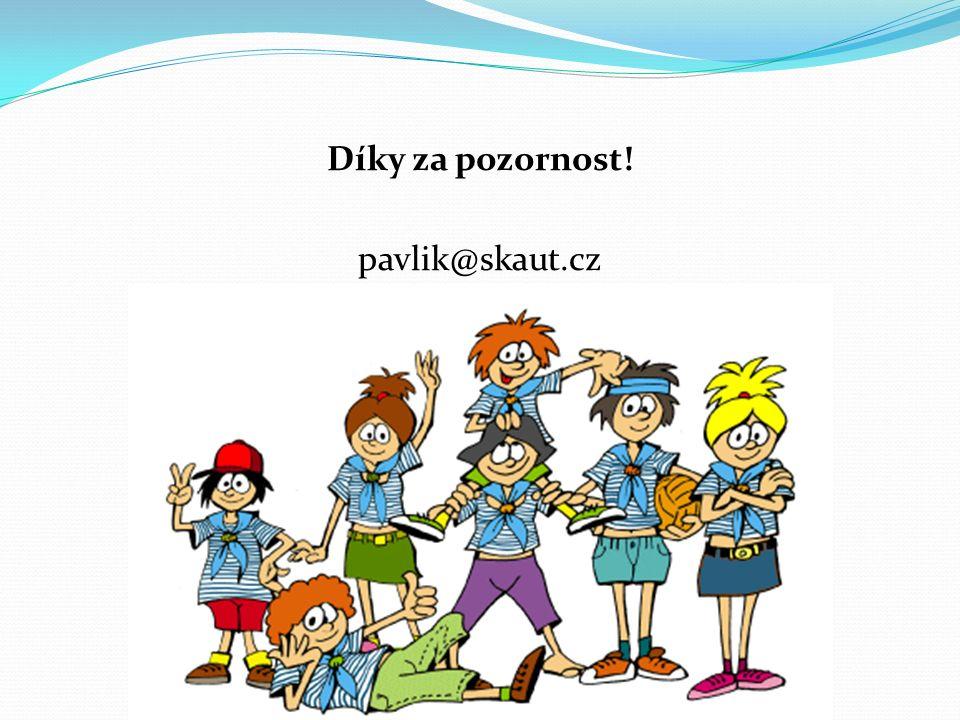 Díky za pozornost! pavlik@skaut.cz
