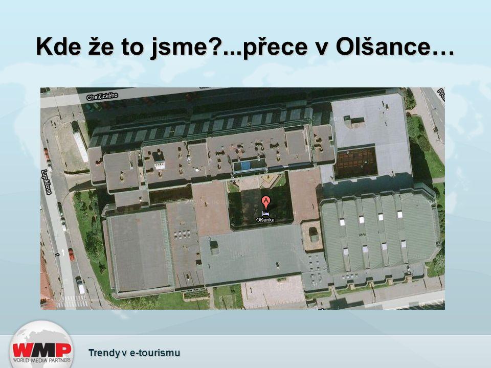 Využití map @ Tourmapy.cz Trendy v e-tourismu