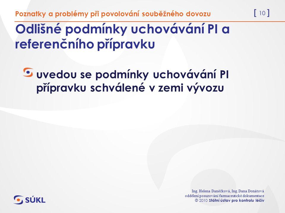 [ 10 ] Ing. Helena Daněčková, Ing.