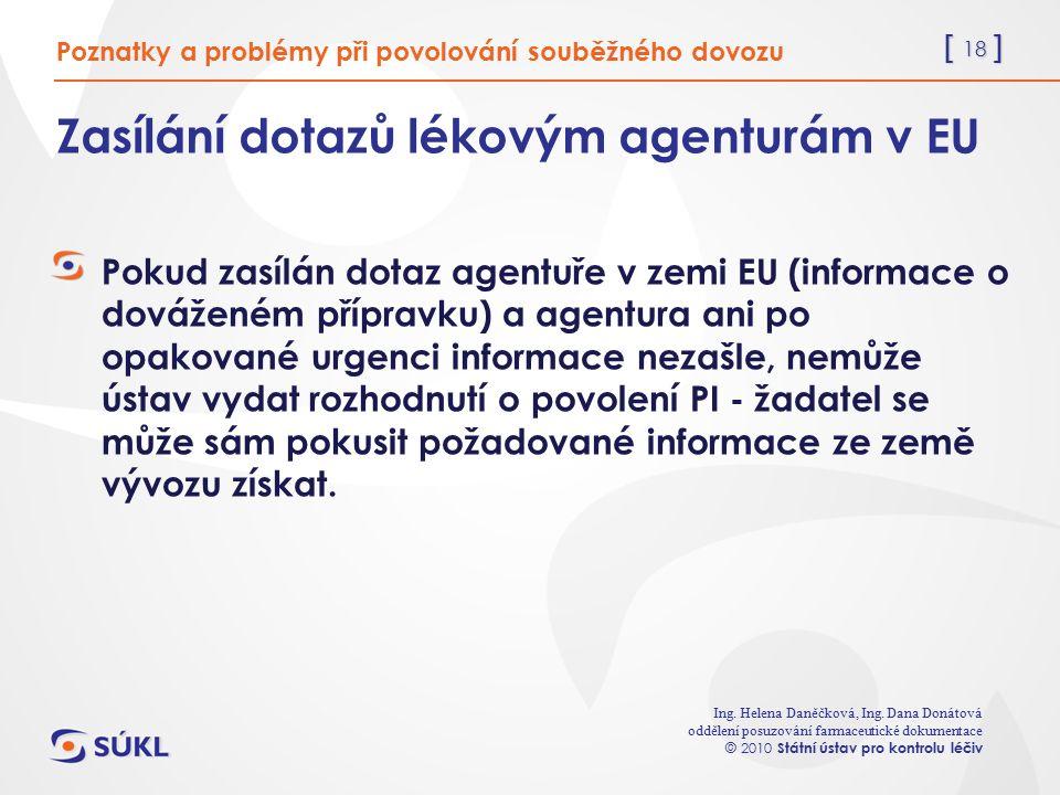 [ 18 ] Ing. Helena Daněčková, Ing.
