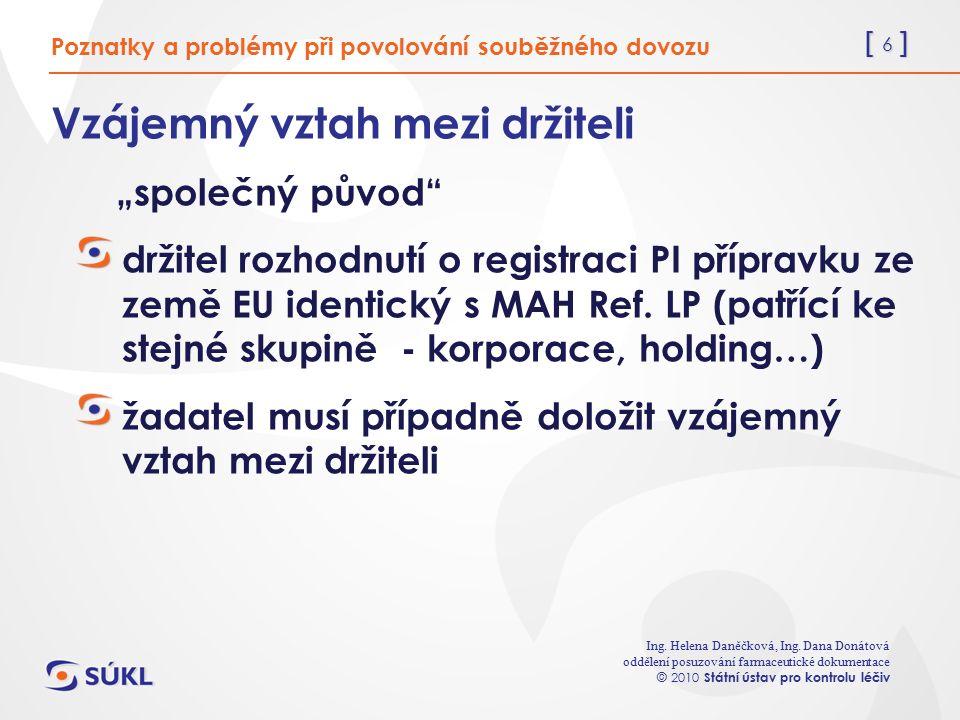 [ 6 ] Ing. Helena Daněčková, Ing.