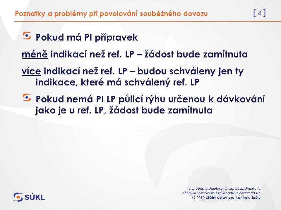 [ 8 ] Ing. Helena Daněčková, Ing.