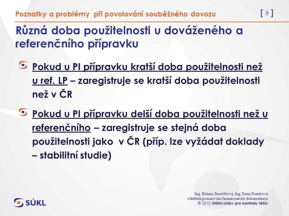 [ 9 ] Ing. Helena Daněčková, Ing.