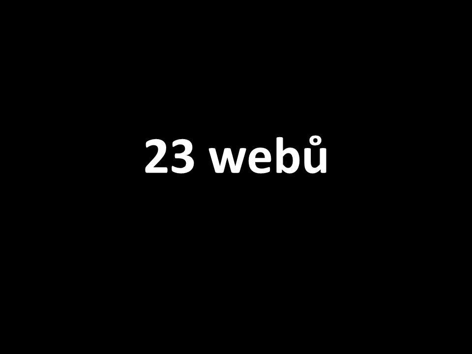 23 webů
