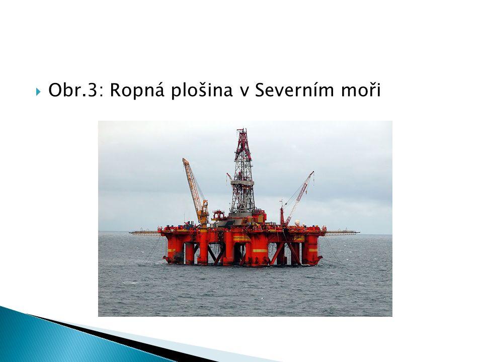  Obr.3: Ropná plošina v Severním moři