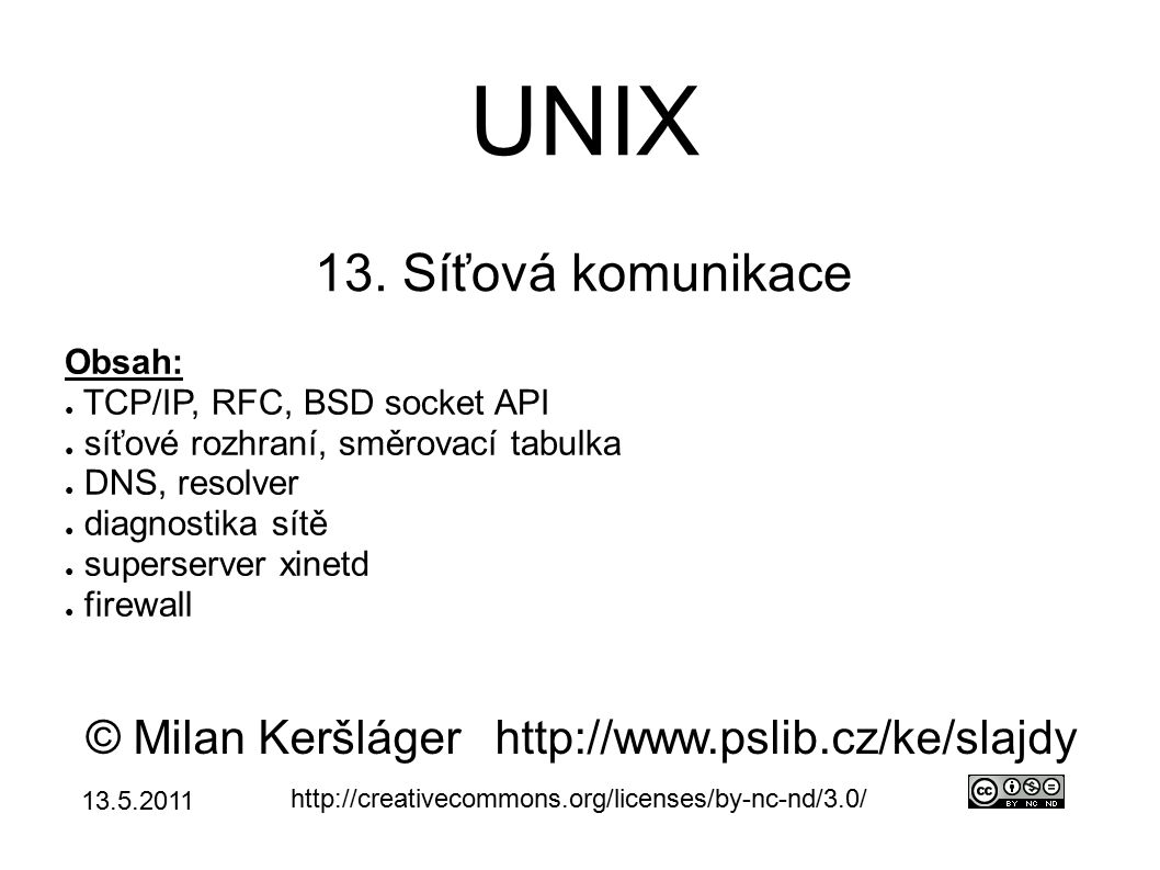 UNIX 13.