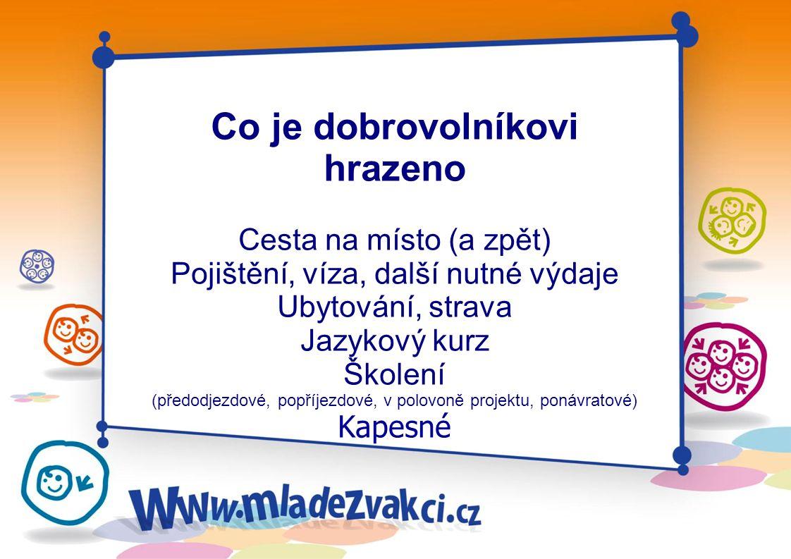 A2 Evropská dobrovolná služba Možnost pro jednotlivce strávit až rok v zahraničí při dobrovolnické práci v neziskovém sektoru.