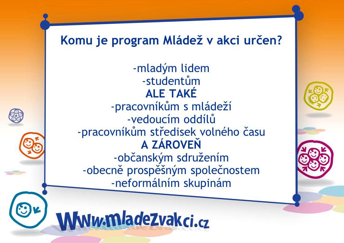Neformální vzdělávání: - dobrovolné - přístupné každému - zaměřené na ty, kdo se učí - zaměřené na osvojování dovedností pro život a přípravu na aktiv