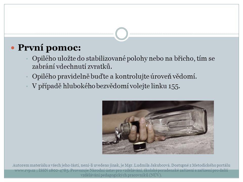 Autorem materiálu a všech jeho částí, není-li uvedeno jinak, je Mgr. Ludmila Jakubcová. Dostupné z Metodického portálu www.rvp.cz ; ISSN 1802-4785. Pr