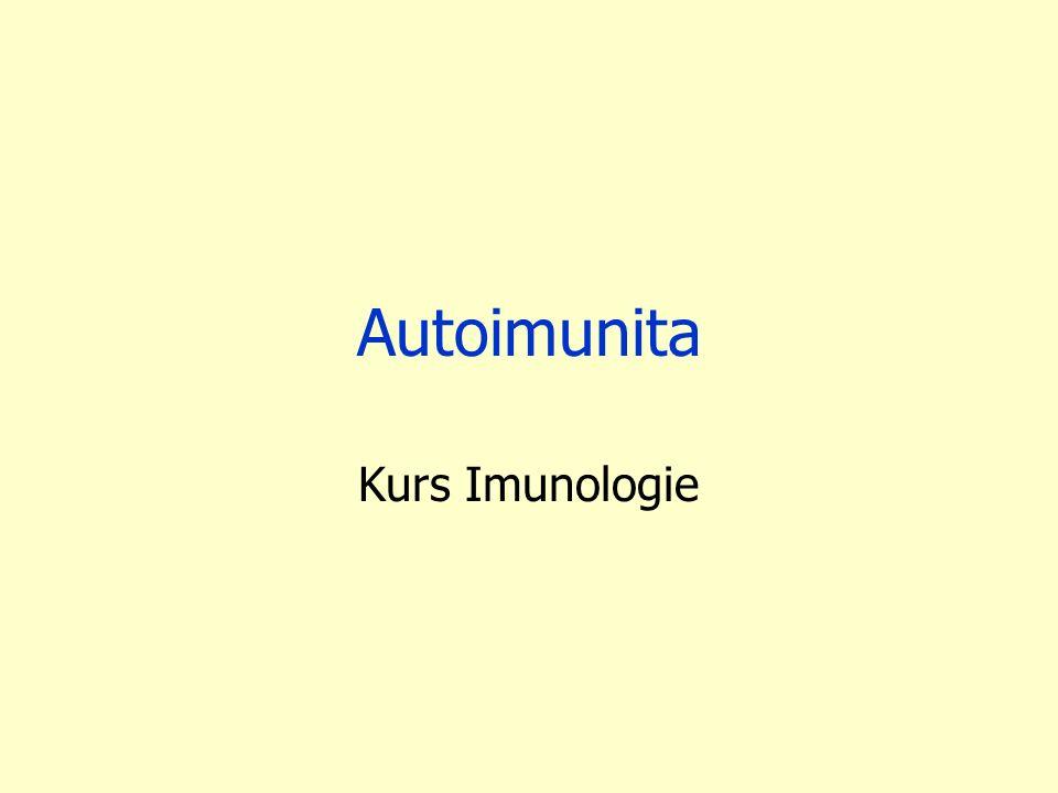 Poruchy funkce imunitního systému Nedostatečná funkce – imunodeficity Nadměrná reakce na –vnitřní antigeny – autoimunity –vnější antigeny – alergie