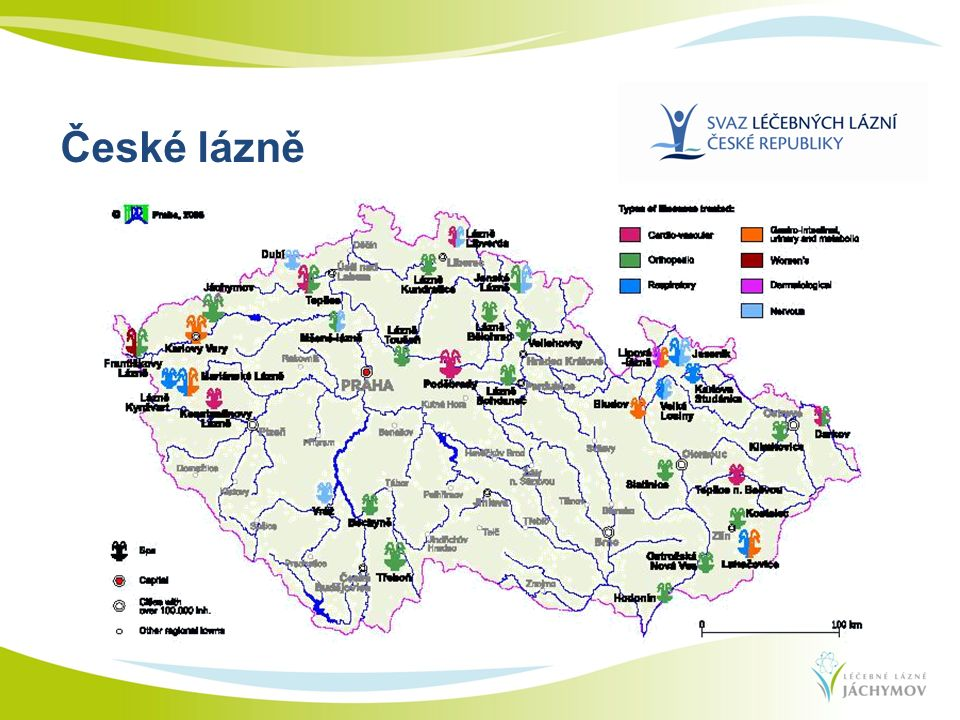 České lázně