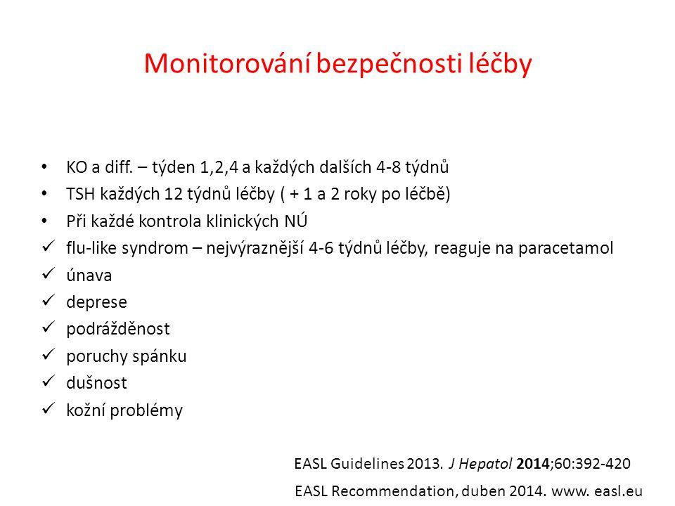 Monitorování bezpečnosti léčby KO a diff.