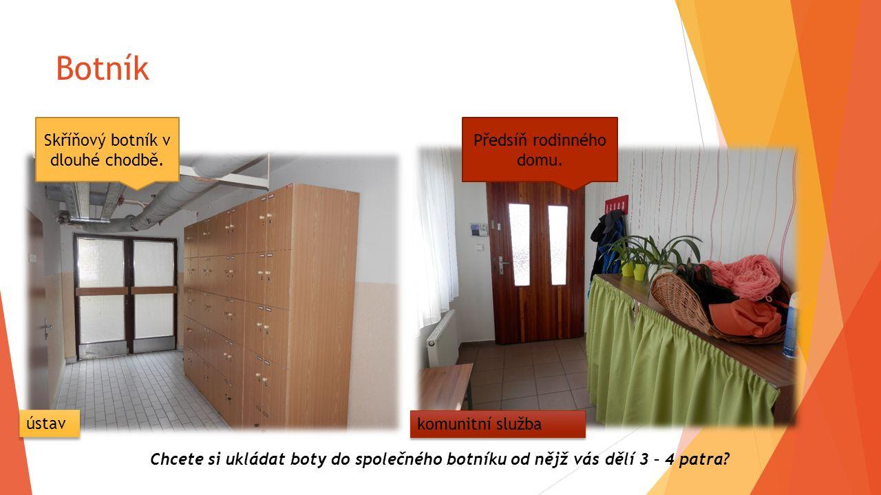 Intimita hygieny Sociální příslušenství na pokoji, ale také společné koupelny na patrech.