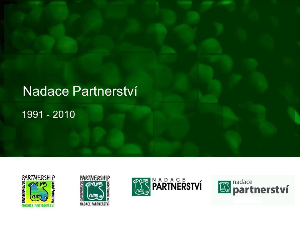 Nadace Partnerství 1991 - 2010