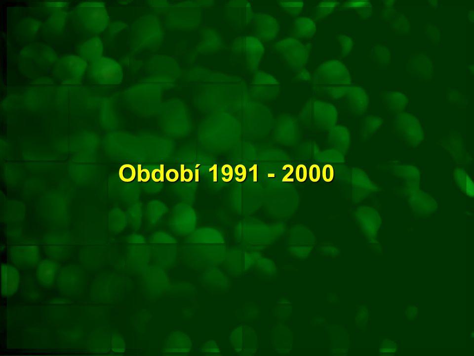 Období 1991 - 2000