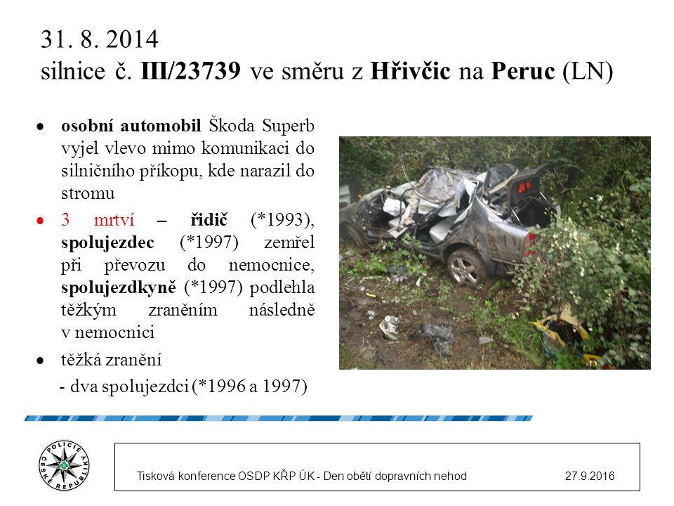 31. 8. 2014 silnice č.