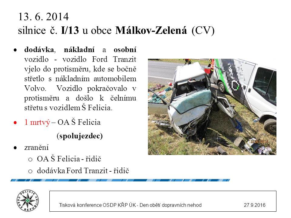 13.7. 2014 silnice č.
