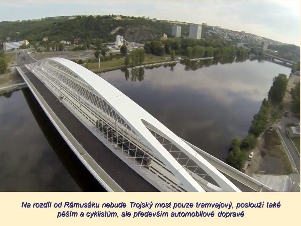 Architektonicko-konstrukční řešení vybral Magistrát hlavního města Prahy z 20 návrhů v soutěži vypsané roku 2005. První cena spojená s odměnou 700 tis