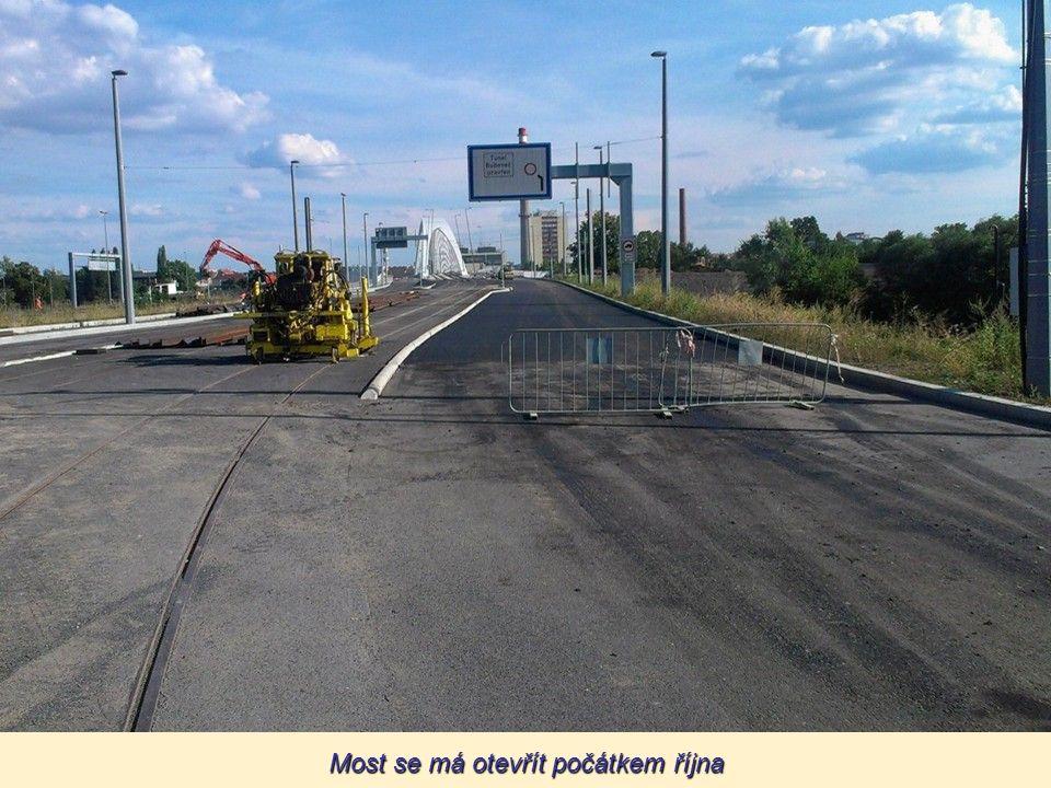 Most se má otevřít počátkem října
