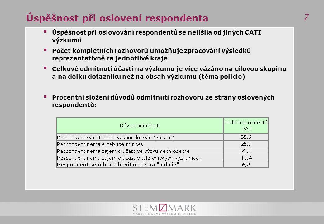 48 Informovanost o práci Policie ČR