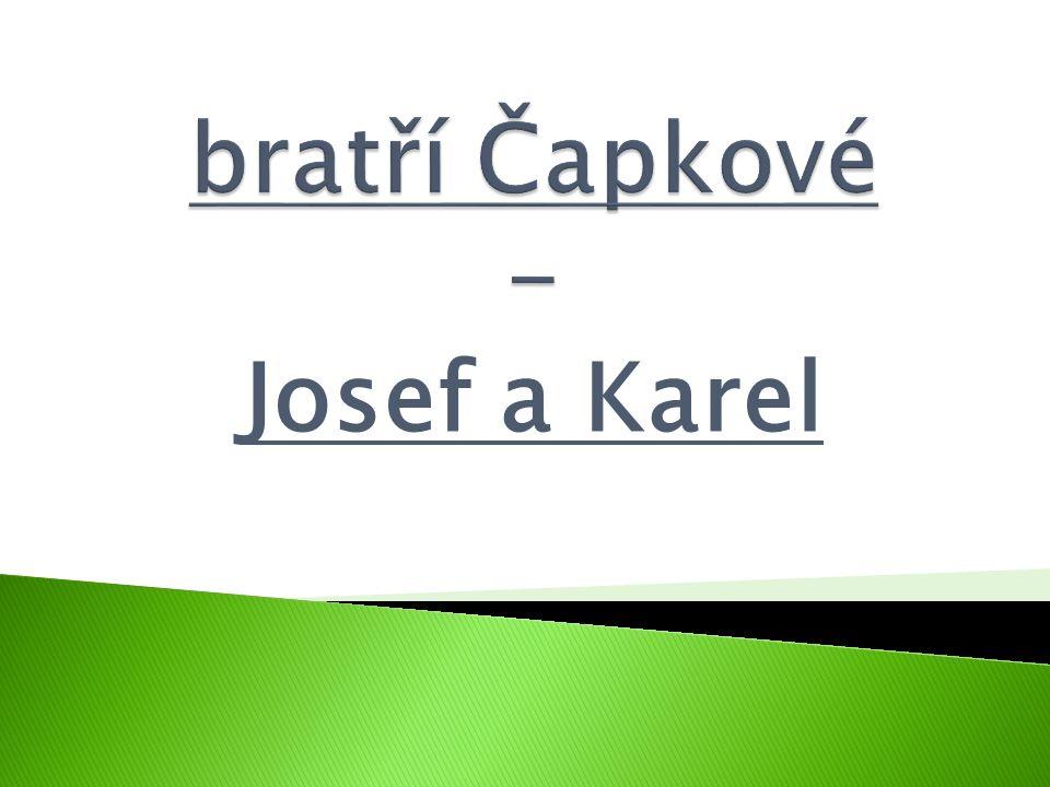 Josef a Karel
