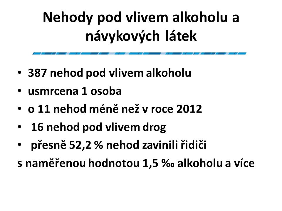 Nehody podle zavinění leden - říjen 2013; porovnání s rokem 2012 20132012rozdíltj.