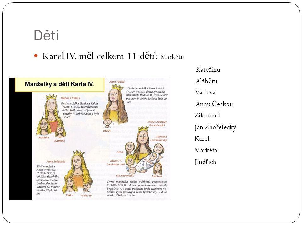 Děti Karel IV.