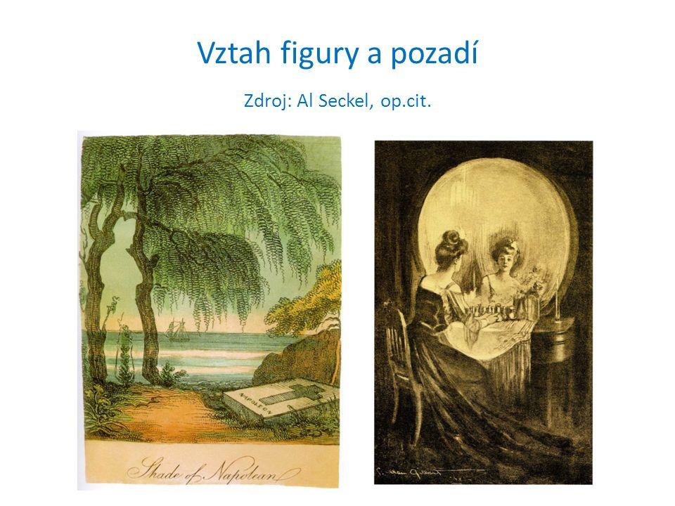 Vztah figury a pozadí Zdroj: Al Seckel, op.cit.