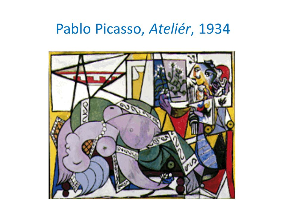 Pablo Picasso, Ateliér, 1934