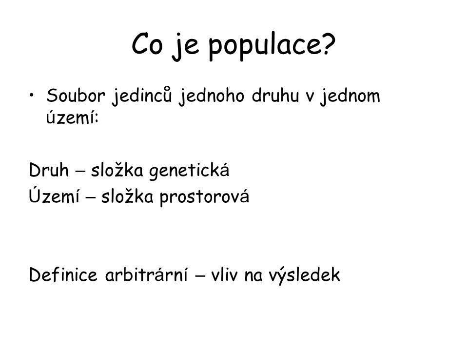 Co je populace.