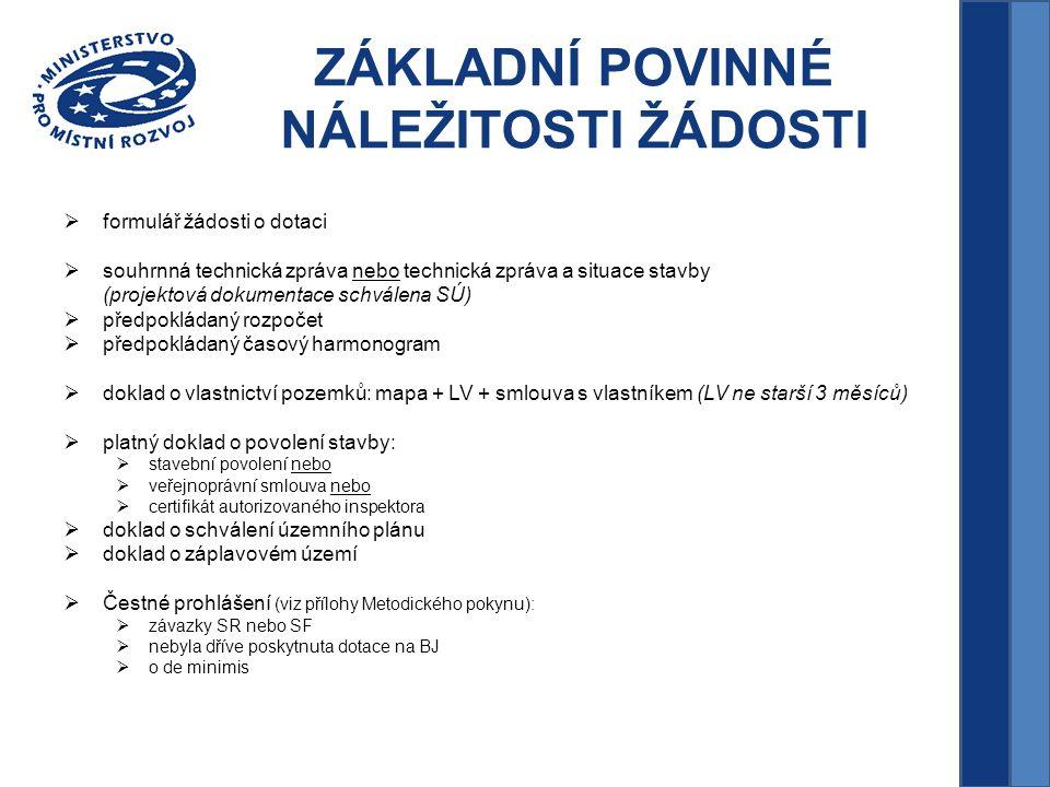 KRITERIA Kriteria  místo realizace (region se soustředěnou podporou státu dle usnesení vlády č.