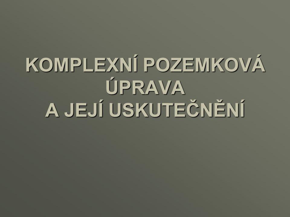 Etapy procesu pozemkových úprav Přípravné práce Návrhové práce Realizační práce 2/26
