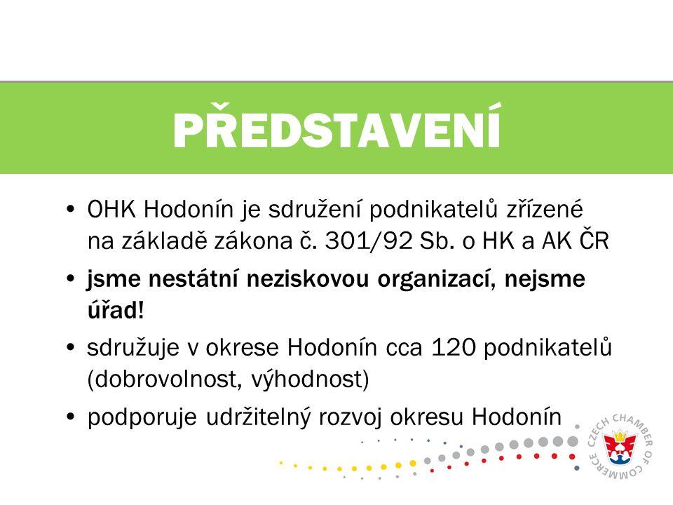 OHK Hodonín je sdružení podnikatelů zřízené na základě zákona č.