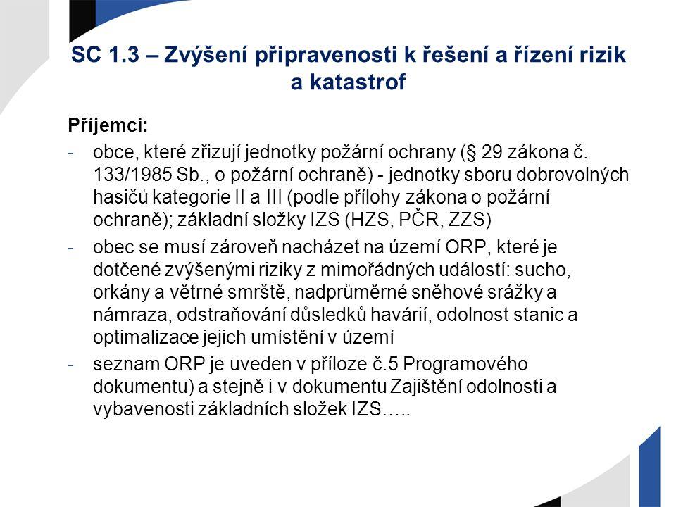 Sociální služby a sociální začleňování A)Podpora poskytování vybraných sociálních služeb v souladu se zákonem č.