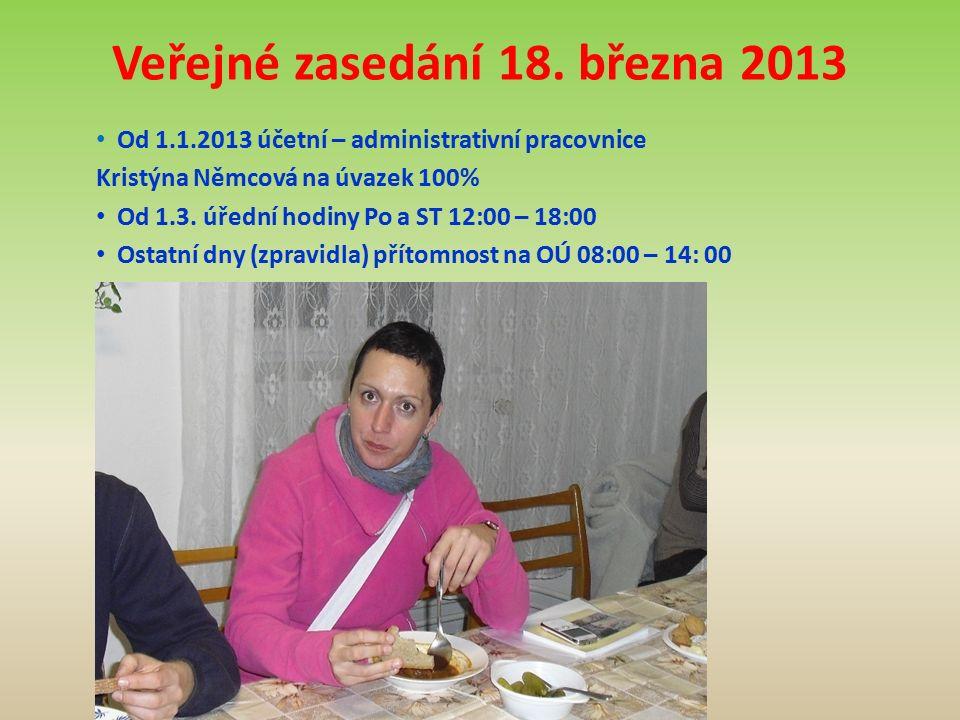 Veřejné zasedání 18.