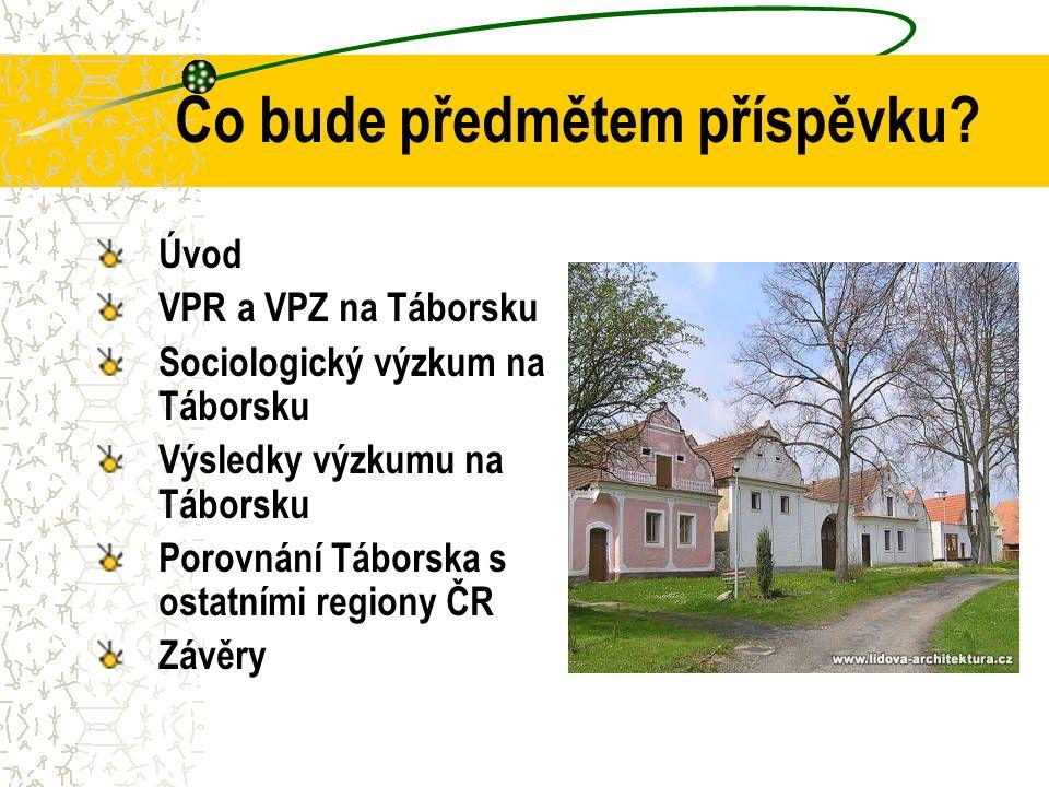 Vztah občana k VPR nebo VPZ Celá republika  Mezi výhodami bylo nejčastěji uváděno možnost získání dotací a zvýšení atraktivity obce pro turisty.