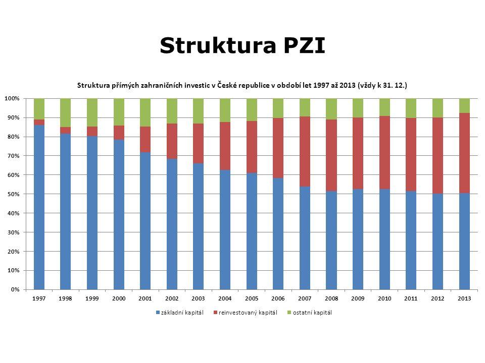 Struktura PZI