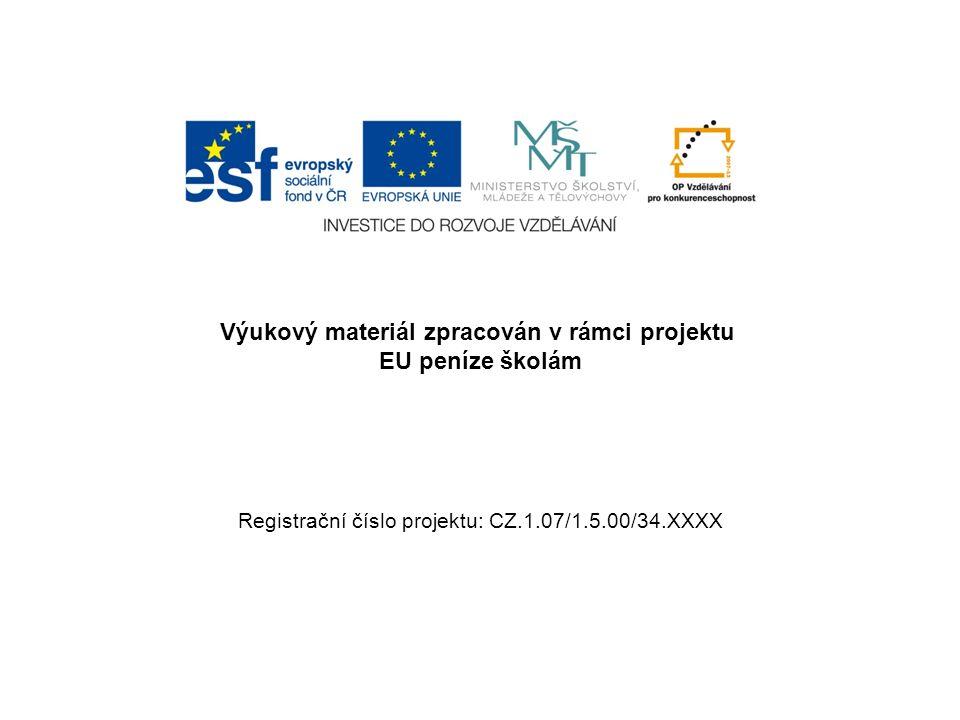 Šablona:III/2č.materiálu: VY_32_INOVACE_169 Jméno autora:Mgr.
