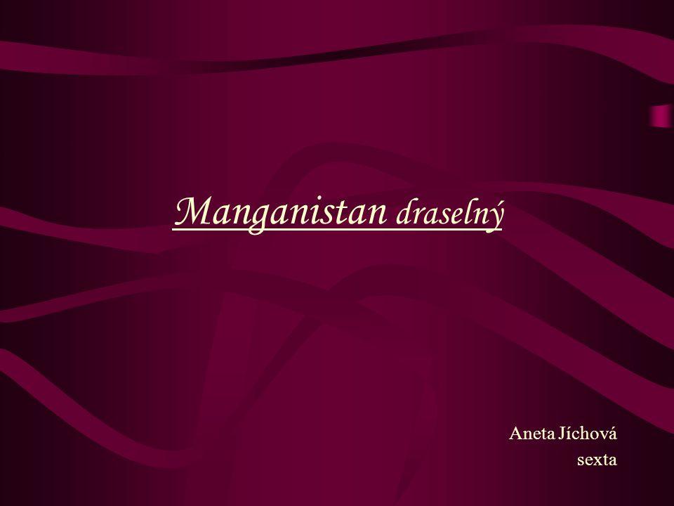 Manganistan draselný Aneta Jíchová sexta