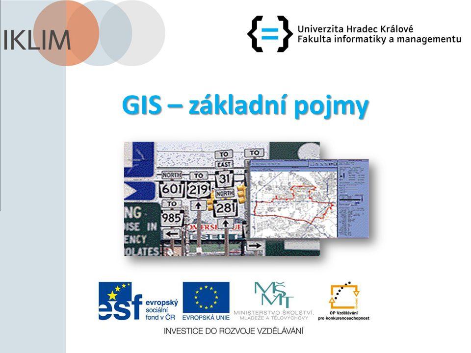 GIS – základní pojmy