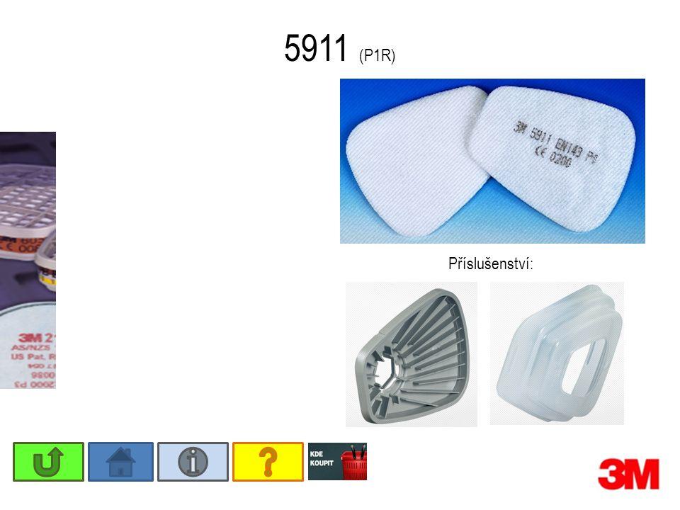 5911 (P1R) Příslušenství: