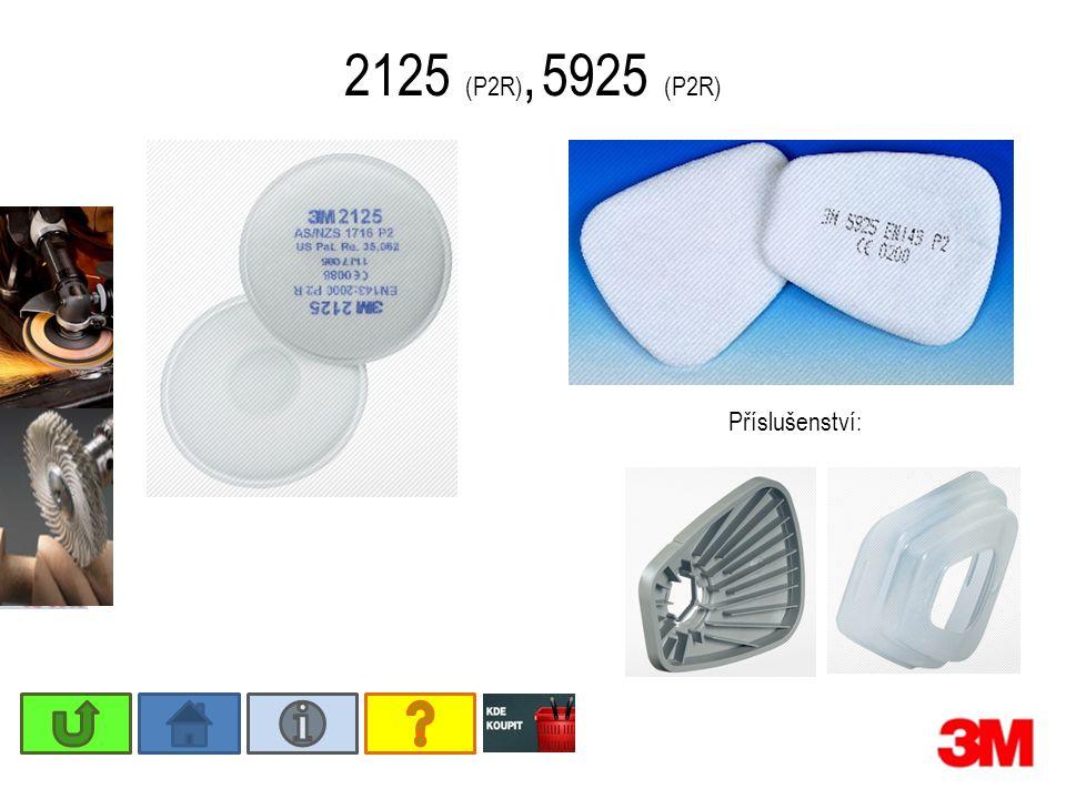 2125 (P2R), 5925 (P2R) Příslušenství: