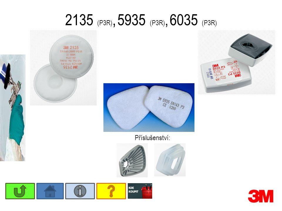 2135 (P3R), 5935 (P3R), 6035 (P3R) Příslušenství: